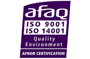 国際的な品質基準「ISO9001」を取得