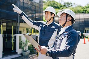 すべての大規模修繕工事サービスにアフター点検が含まれます