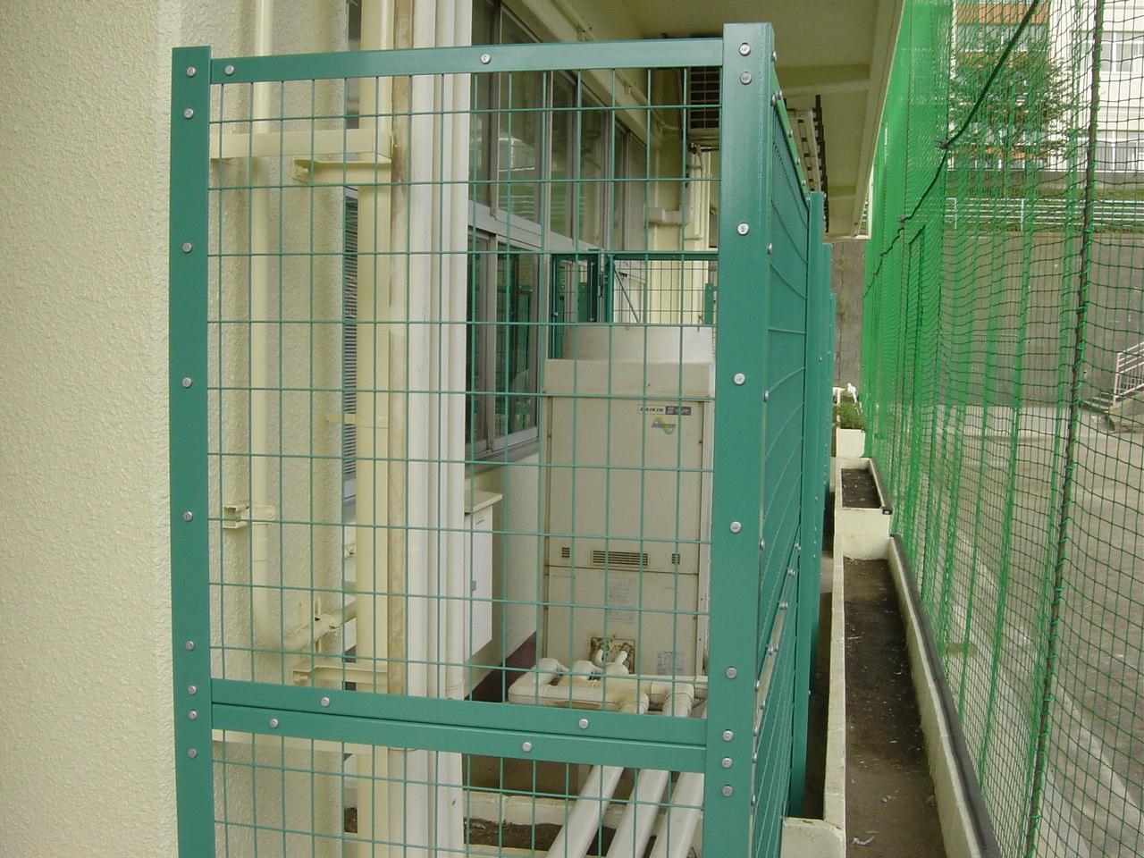 フェンス交換工事