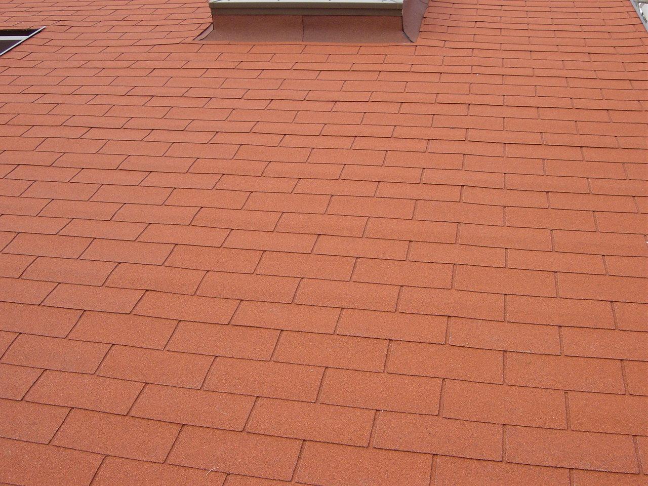 屋根シングル張り工事