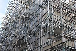 マンション修繕と足場の関係について