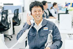 電話・メール・工事用ポストで居住者様からのお問合わせに対応