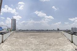 マンションやビルの屋上部分の工法~アスファルト防水~
