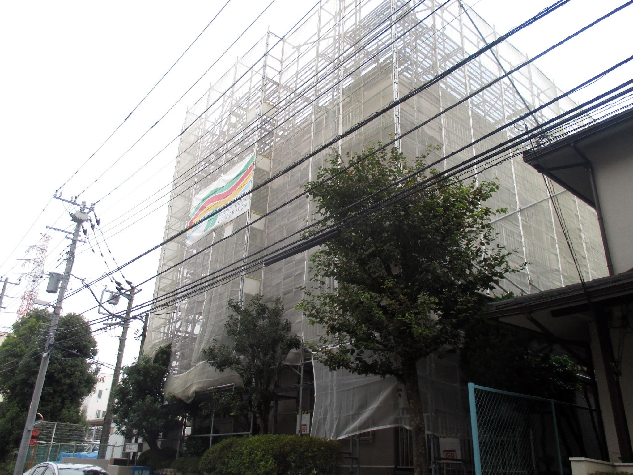 新横浜コート 大規模修繕工事