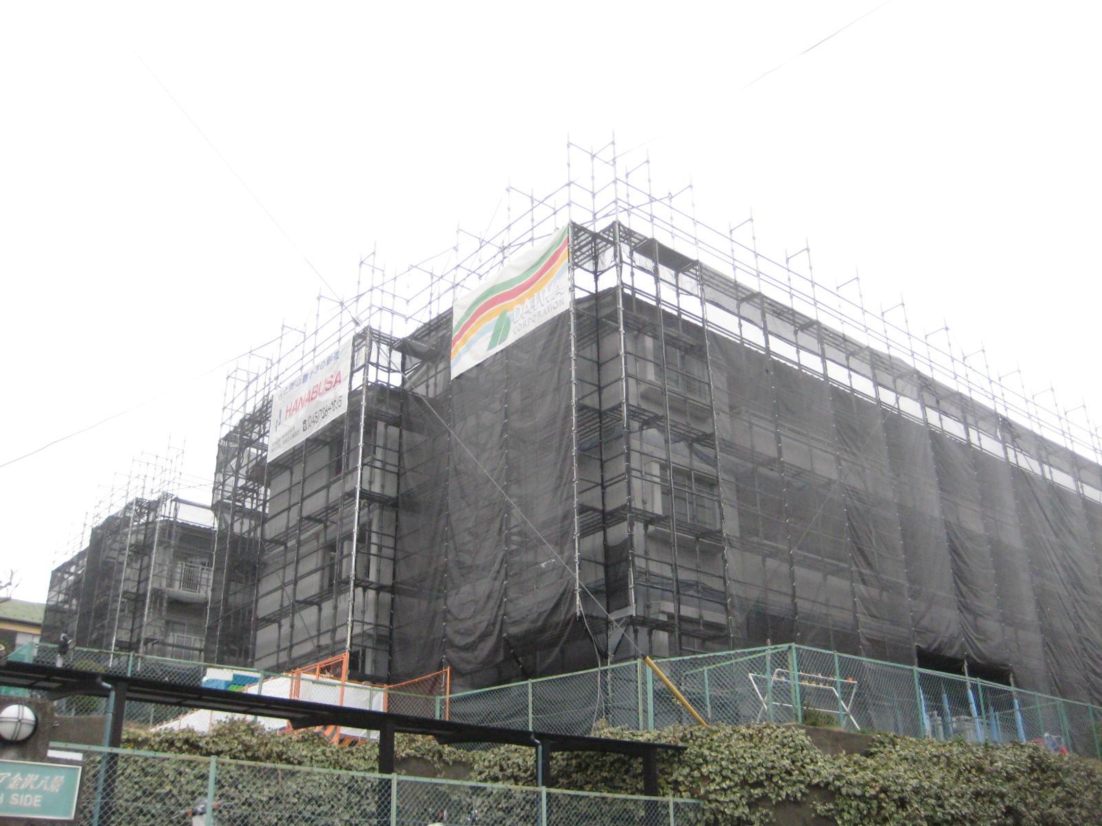 パークピア金沢八景 大規模修繕工事