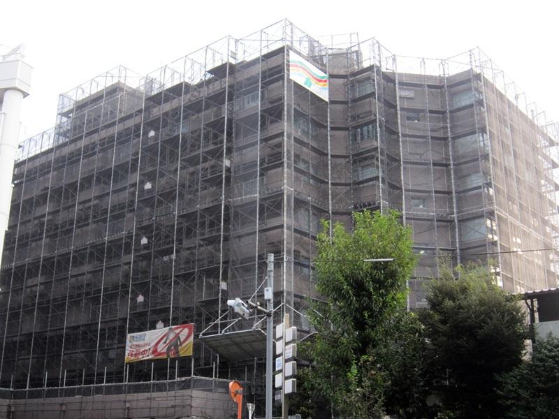 2016年藤和護国寺コープ 大規模修繕工事