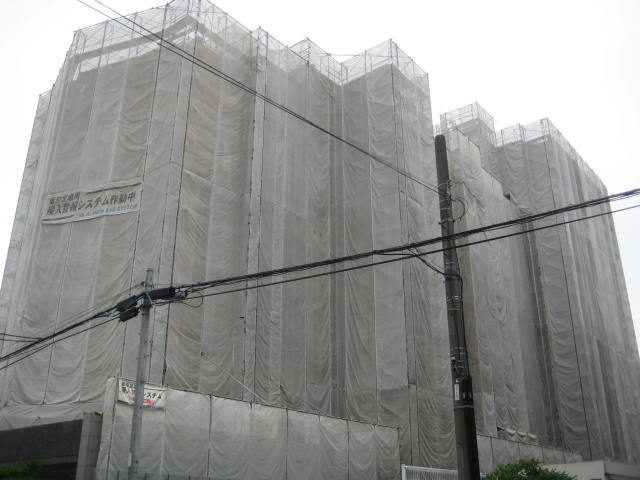 コスモ住吉カルディアコート 大規模修繕工事