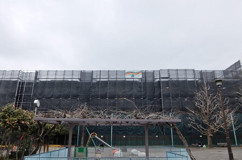 バームステージ大島 大規模修繕工事