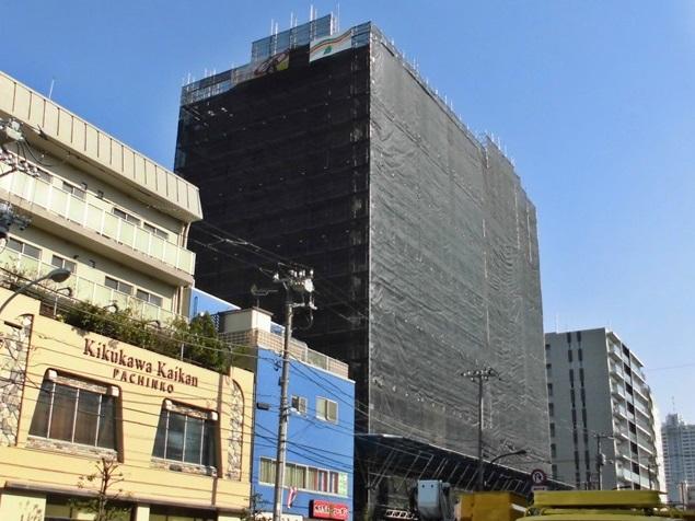 藤和菊川ホームズ 大規模修繕工事