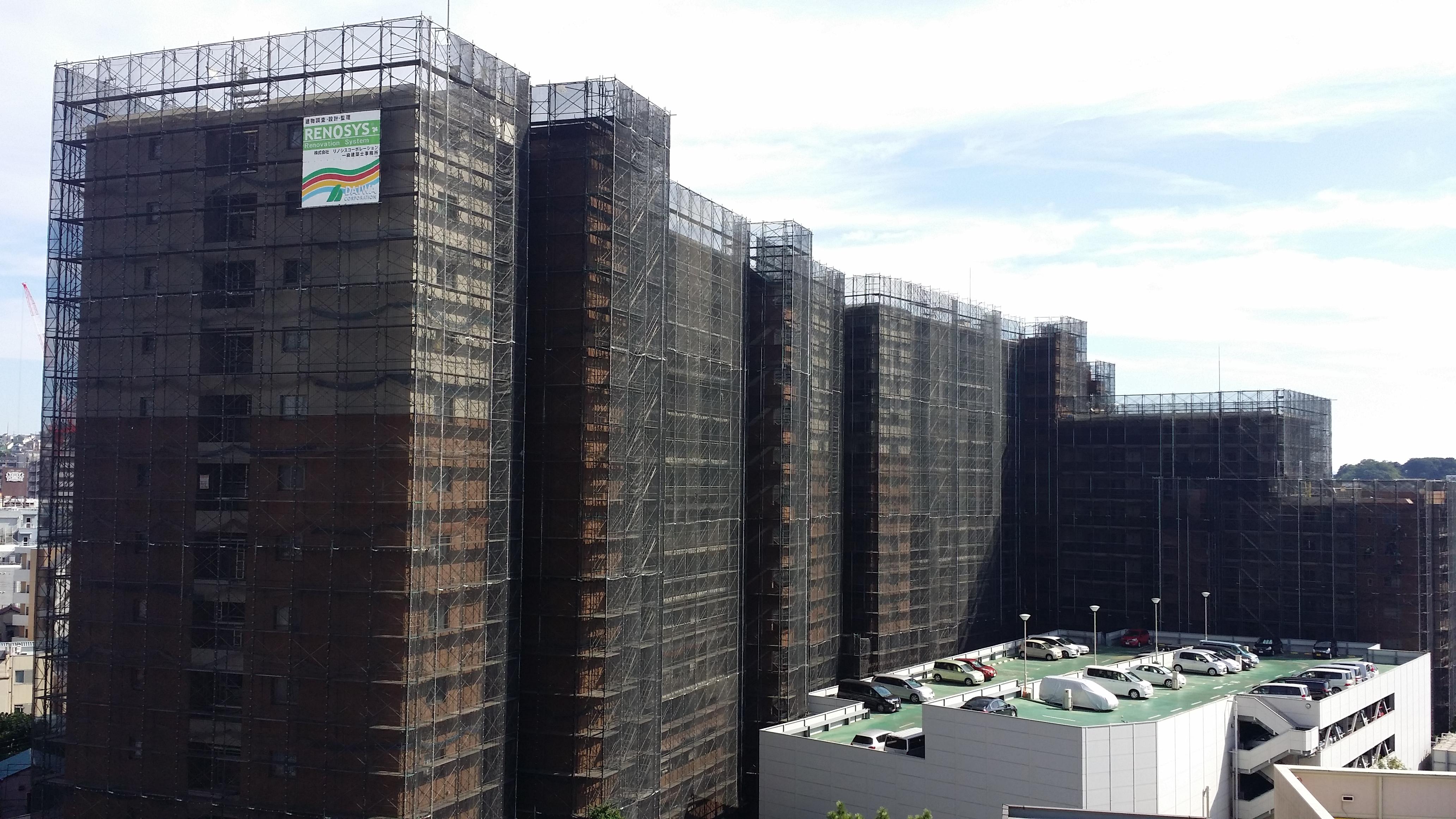 ルネ横浜アーバンテラス 大規模修繕工事