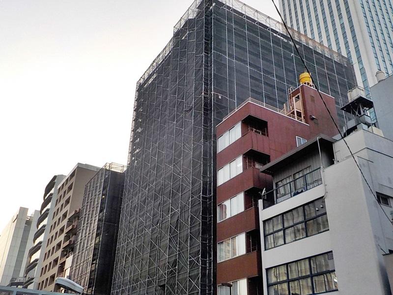 ファミールグラン銀座4丁目オーセンティア 大規模修繕工事