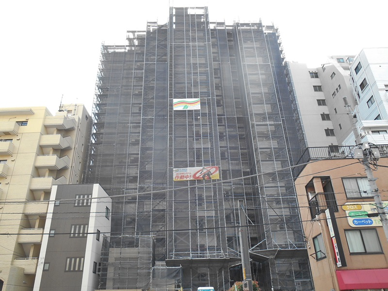 パークハウス新宿若松町 大規模修繕工事