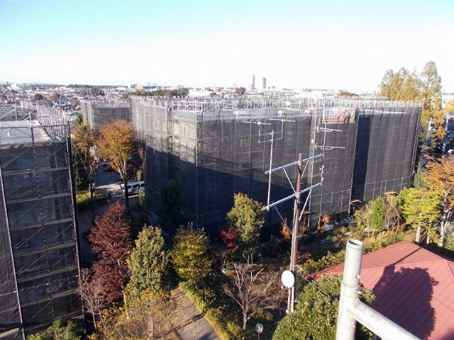 西所沢椿峰ニュータウン39街区 大規模修繕工事