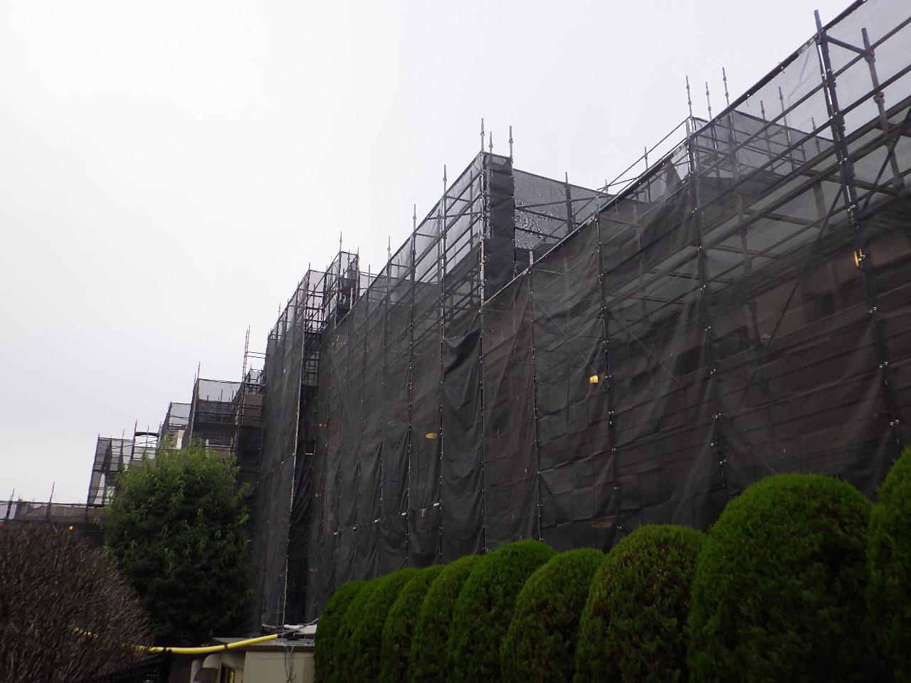 リブゼ四季美台 大規模修繕工事