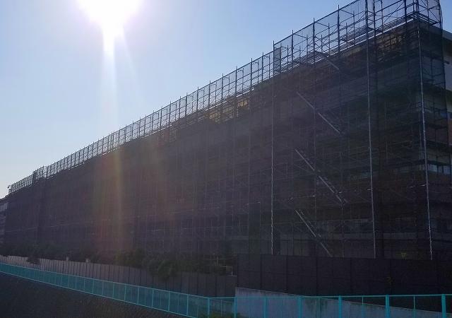 ライオンズステージ鵠沼グランヴァローレ 大規模修繕工事