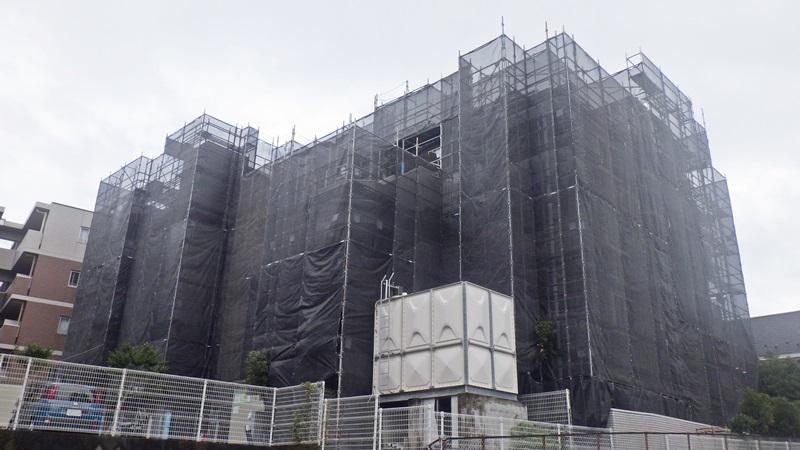 クリオ平塚松風壱番館大規模修繕工事